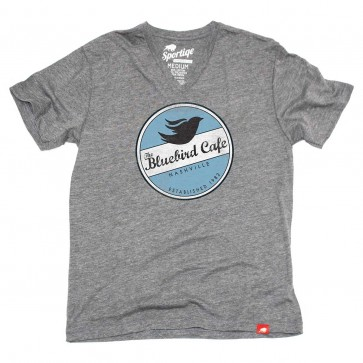 The Bluebird Café V-neck Tee