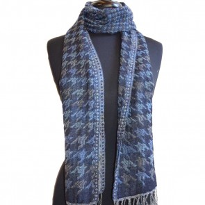 1937 Geometric pattern neck scarf