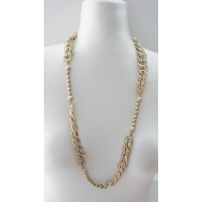 Chainlink bead necklace