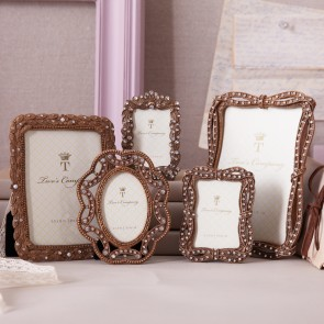 Chatelet™ jeweled photo frames