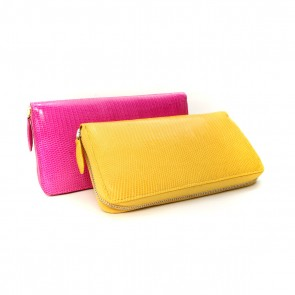 Crocodile lady zip wallets