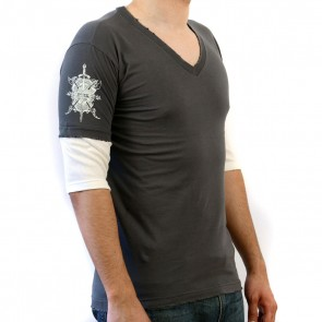 Moss T-shirt with sphinx graphic
