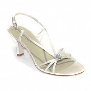 Elena By Grace Ivory Sandals