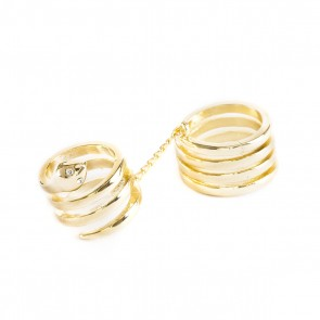Serpentine Double Trouble Ring - All rings are size 7