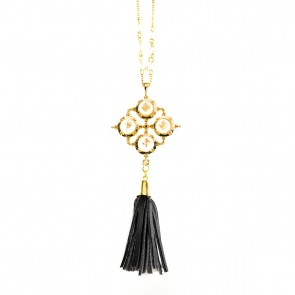 High Noon Tassel Necklace