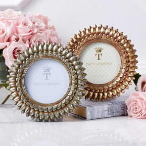 Round Leaf Design Photo Frame